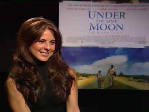 Kate del Castllo habla sobre La misma luna - YouTube