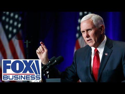 VP Pence speaks at Arlington Cemetery