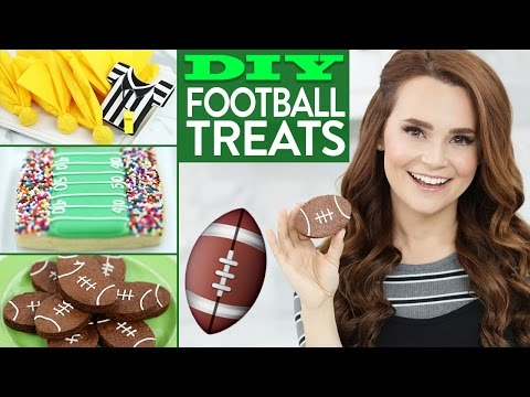 Download Youtube: DIY Easy Football Treats!