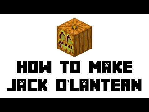 Minecraft Survival: How To Make Jack O'Lantern