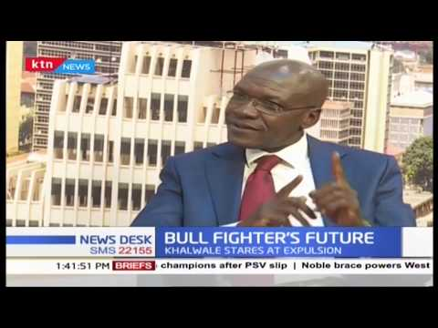 ''Bull Fighter's future'' Khalwale stares at expulsion from FORD Kenya