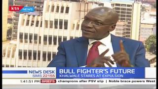 \'\'Bull Fighter\'s future\'\' Khalwale stares at expulsion from FORD Kenya