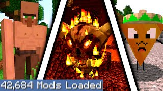 Minecraft but I downloaded every single mod again 6