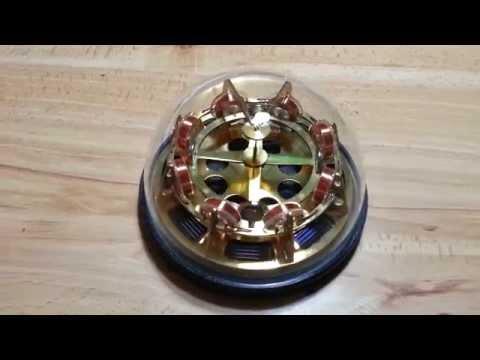 "Brass EZ-Spin motor - final  ""perpetual motion"" machine"
