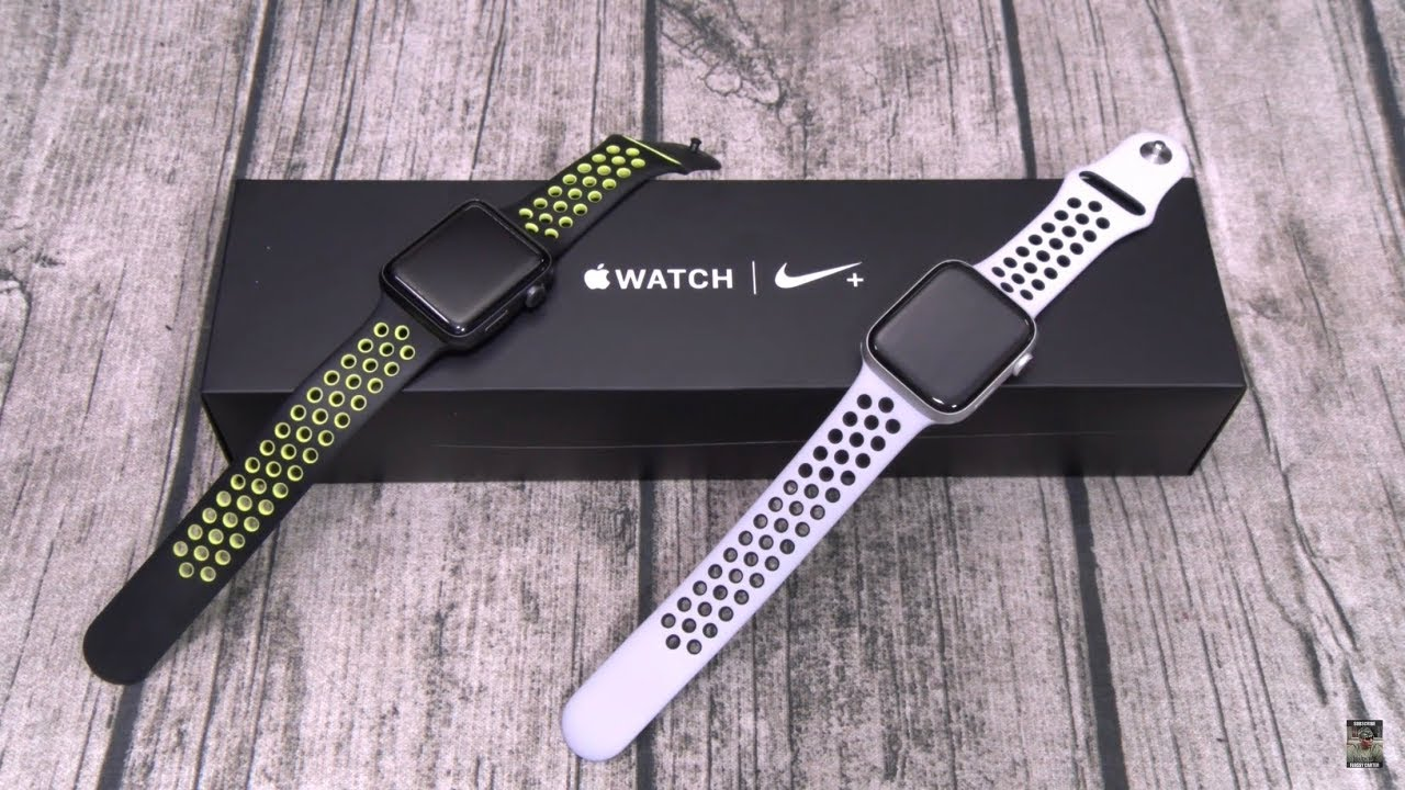 Apple Watch Series 4 Nike Plus Edition -