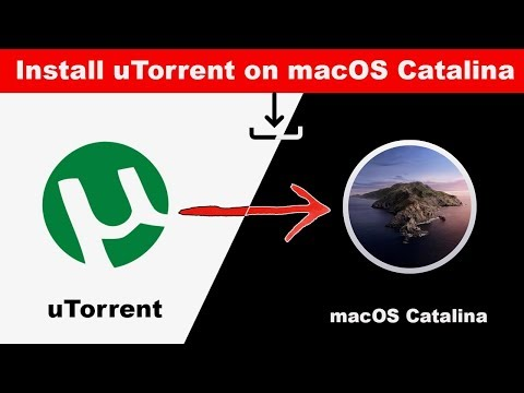 How To Install UTorrent (App) On MacOS Catalina 10.15    |    2019