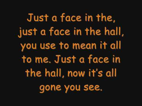 Nat Wolff - Face in the hall. With lyrics.