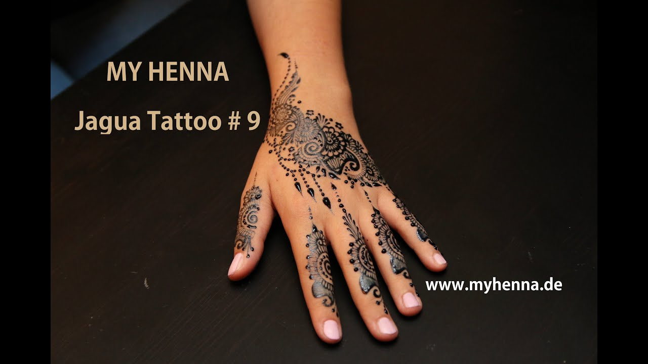 My Henna Jagua Tattoo 9 Youtube
