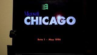 Installing Windows Chicago