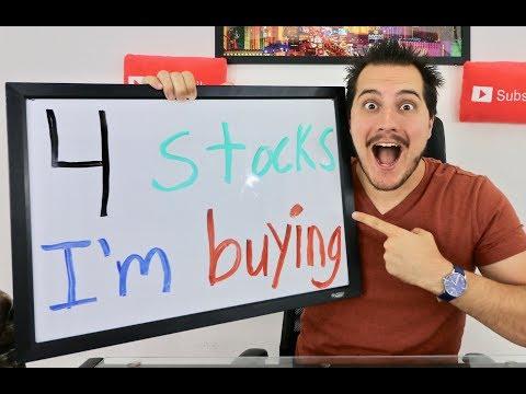 4 Stocks Im Buying! June 2017