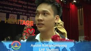 Lao NEW on LNTV-America students show the Lao Artist skills on their performance 30/7/2013