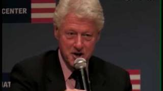 Bill Clinton - Losers and Loners Make Democracy