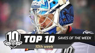 17/18 KHL Top 10 Saves for Week 10