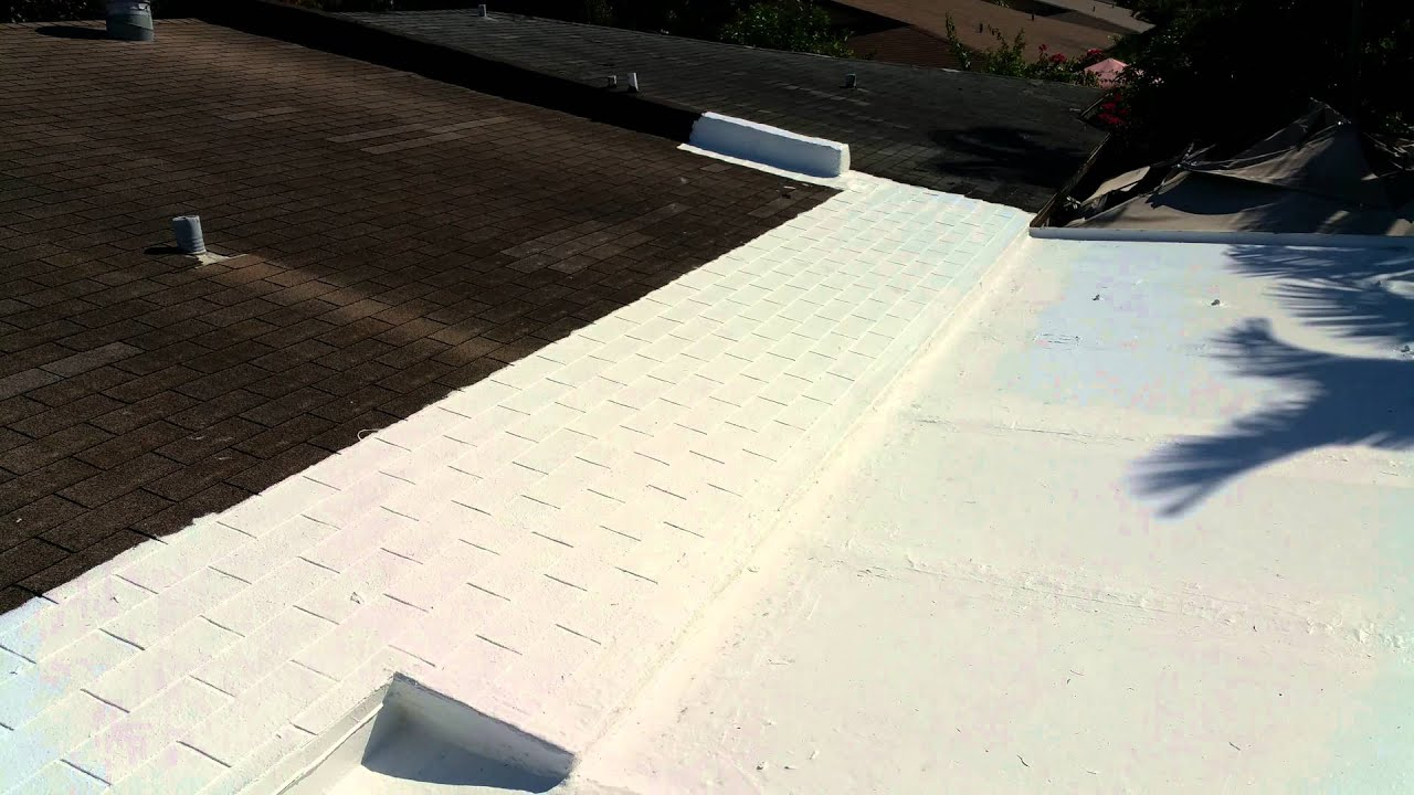 Diy Roof Repair With Henry 887 Roof Coating Youtube