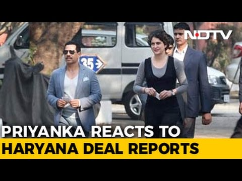 Priyanka Gandhi Vadra Says Nothing To Do With Robert Vadra's Finances
