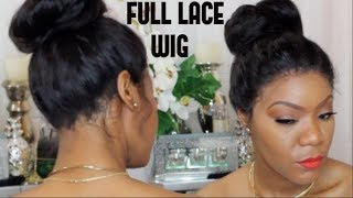 Full Lace Wig Application No glue | Wig Encounters