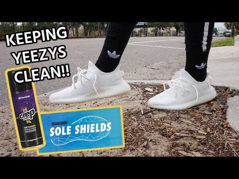 How to Protect your Yeezy Boost 350 V2 Cream/Triple White