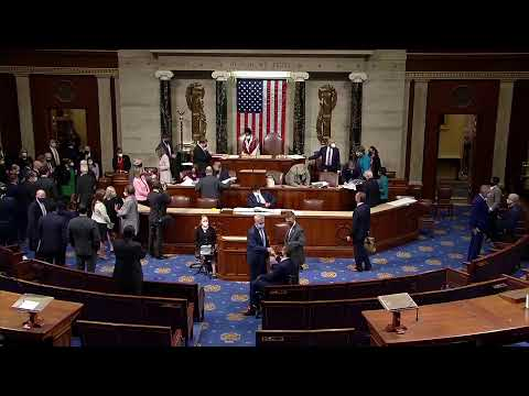 LIVE: Lawmakers reconvene to certify Electoral College votes after the storming of the Capitol