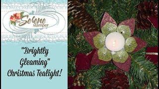 """""""Christmas Gleaming"""" Tealight …"""