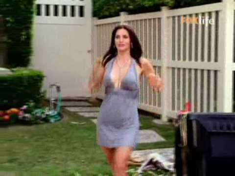 courtney cox naked in pool