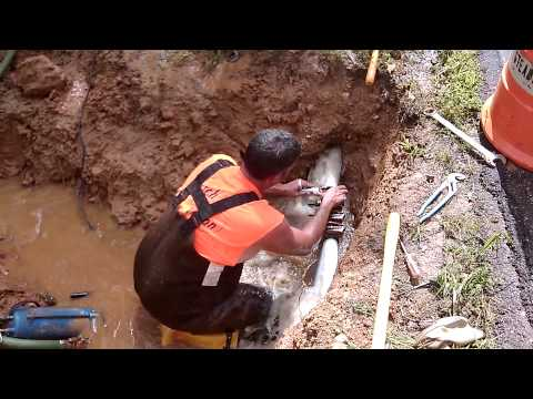 "Live 2"" water main repair"