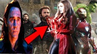 Avengers 4 Loki RETURNS REVEALED! - MCU TV SPINOFF News Breakdown