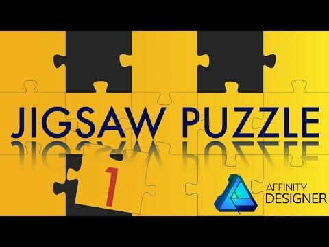 #10 Affinity Designer - Jigsaw Puzzle [ DEUTSCH ] - Teil 1