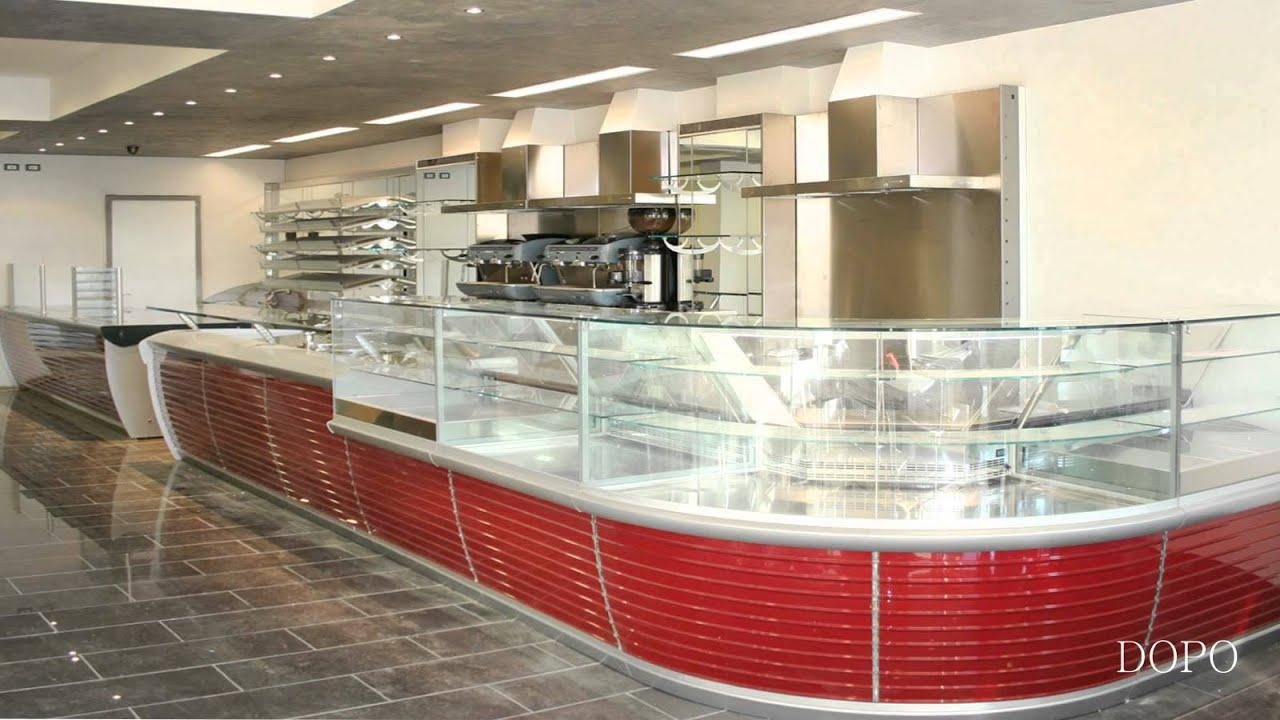 Arredamento bar gastronomia ekip arredamenti per negozi for Arredamento fast food