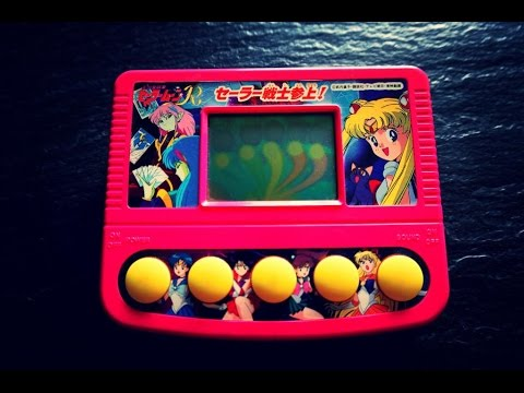 Sailor Moon R Bandai Handheld Game Watch Video Game LCD ...
