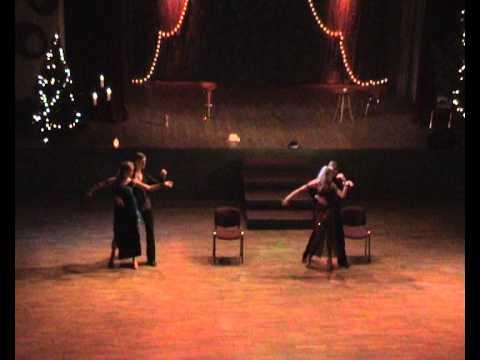 Mr.& Mrs.Smith-'Mondo Bongo'-rumba-Dance Club EVITA (Latvia).avi