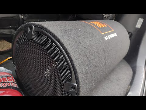 "JBL Bass Tube ""GT-X1300THI"" And JBL Amplifier 