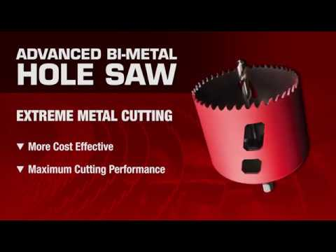 3-5//8 Diameter MK Morse MHS58 Bi-Metal Hole Saw