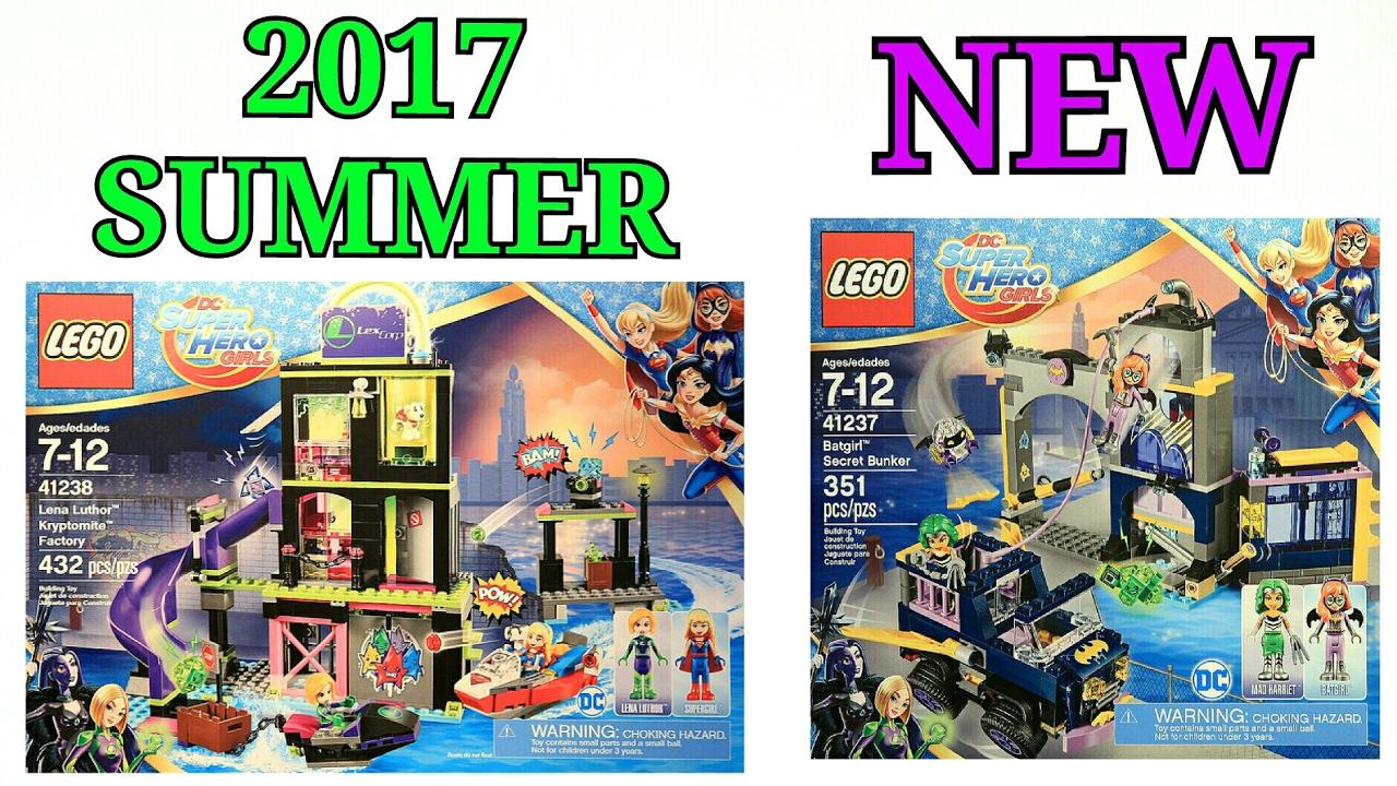 2017 Lego DC Super Hero Girls summer sets official
