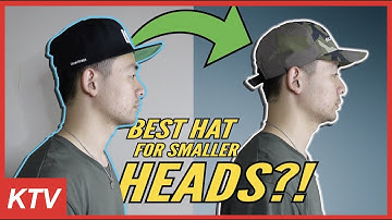 BEST HATS FOR MEN WITH SMALLER HEAD SHAPE?!