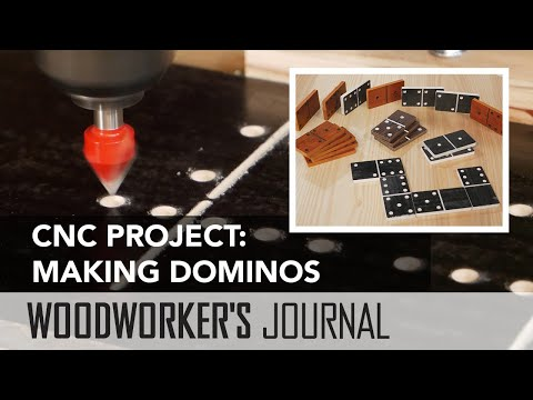 Making a Set of Dominos | CNC Project