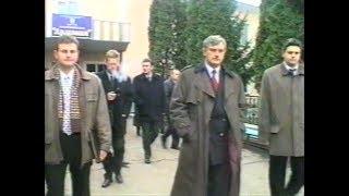 22 октября 2001 год. На Меховой фабрике, кожевенном и племенном заводе побывал полпред