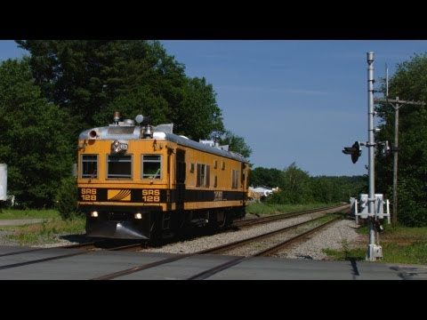 HD Sperry Rail Service Track Inspection Car in Ayer, MA