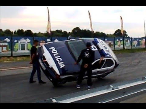Amazing Police Car Stunts Policja Kaskaderzy Youtube