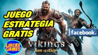 Vikings War of Clans Juego de Estrategia Gratis Android, IOS, Steam, PC en Navegador web y Facebook