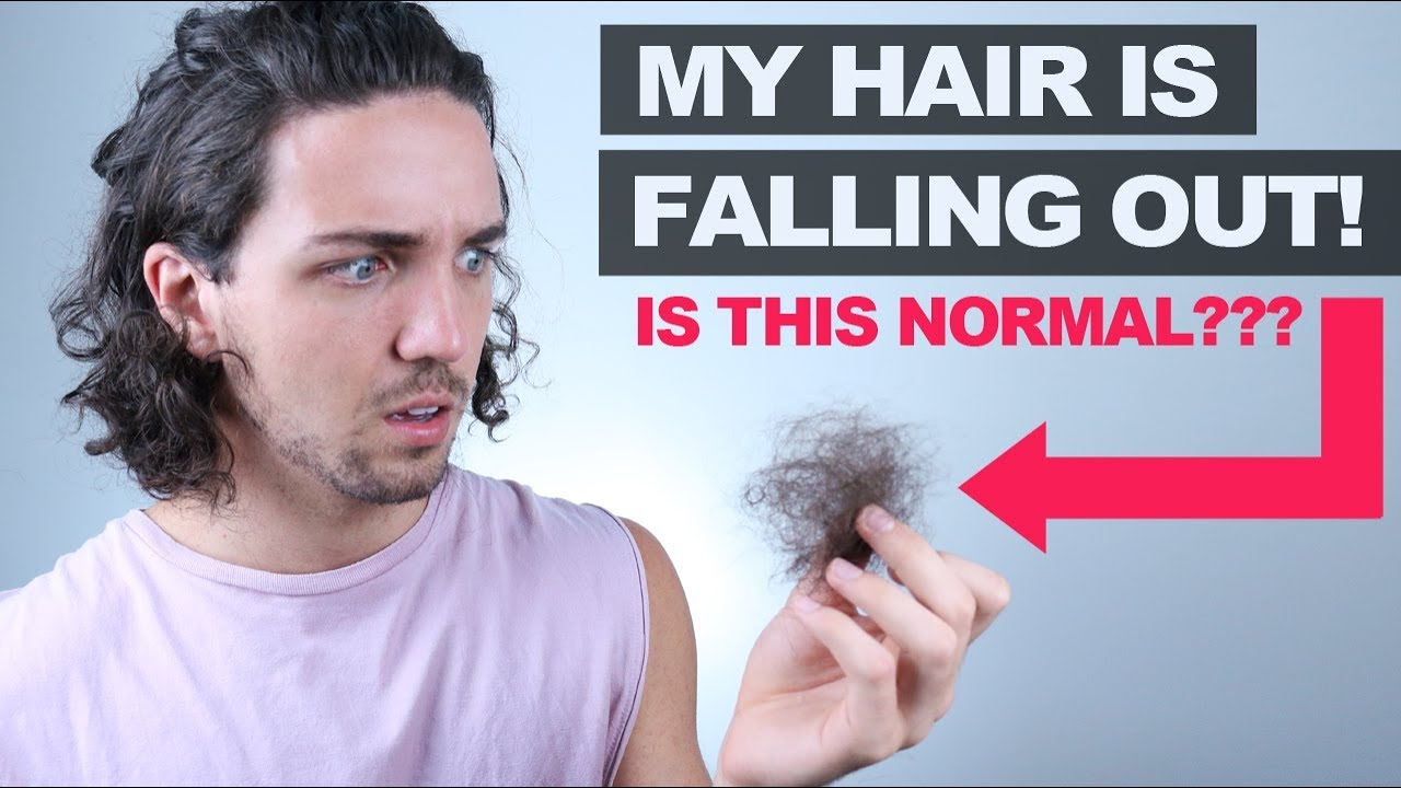 what is normal hair loss in shower