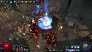 Path Of Exile - Glacial Cascade Crit Dual Curse Shock Nova