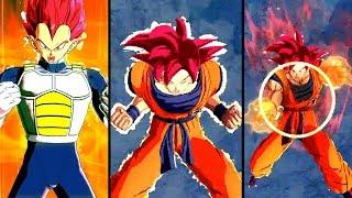 NEW TRANSFORMING GOD VEGETA & GOKU GOD BIND! Dragon Ball Legends Movie God Goku & Vegeta Gameplay