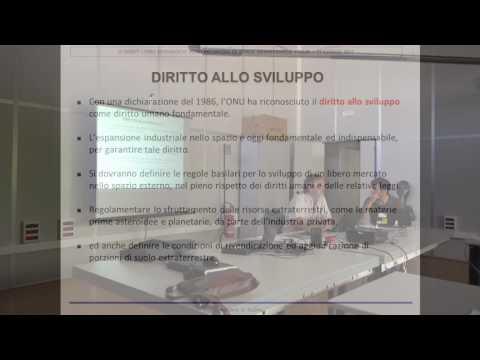 Incontro di Space Renaissance Italia 17 luglio 2017 - Adriano Autino su Outer Space Treaty