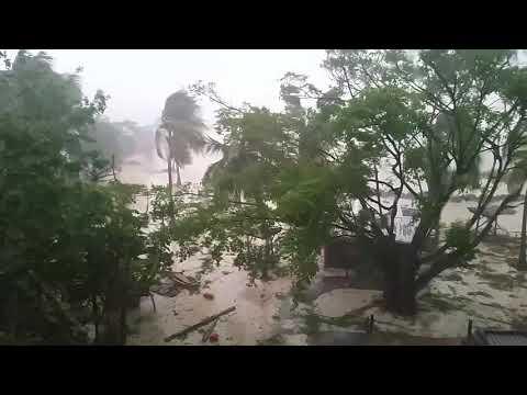 Ouragan Maria en Guadeloupe à 6h15