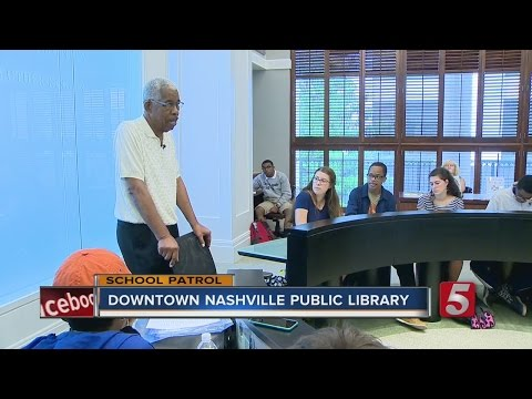 School Patrol: Students Learn From Nashville Civil Rights Activist