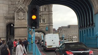 Tower Bridge, London (Opening and Closing in Full HD 60fps) (Thurs 11.08.2016)