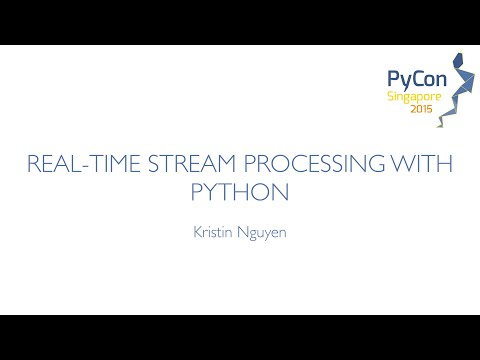 Image from Real time stream processing with Python
