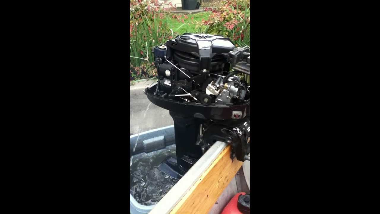 Mercury outboard 8 hp carb funnydog tv for Outboard motor repair training online