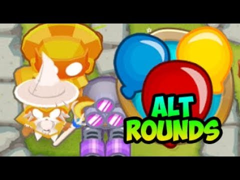 Bloons TD 6 - Monkey Town ALTERNATE ROUNDS