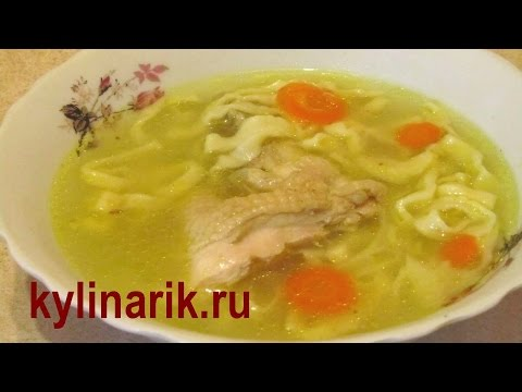 Супы на каждый день простые